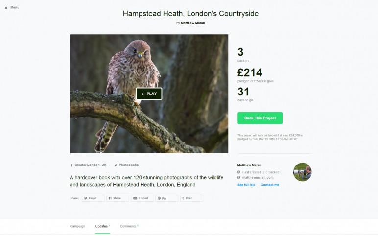 Kickstarter Campaign Launch!!!