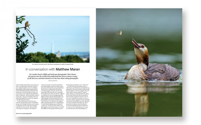 Hampstead Heath – London's Countryside in Outdoor Photography Magazine