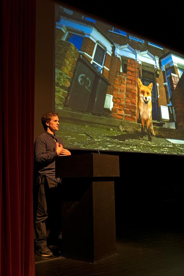 Speaking at Festival Internacional de Imagem de Natureza